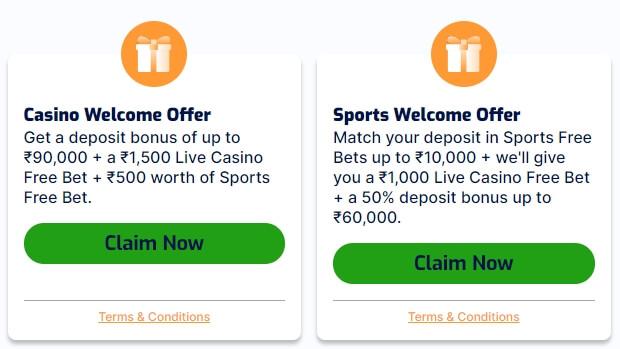 Sports betting & casino bonus at PureWin.com