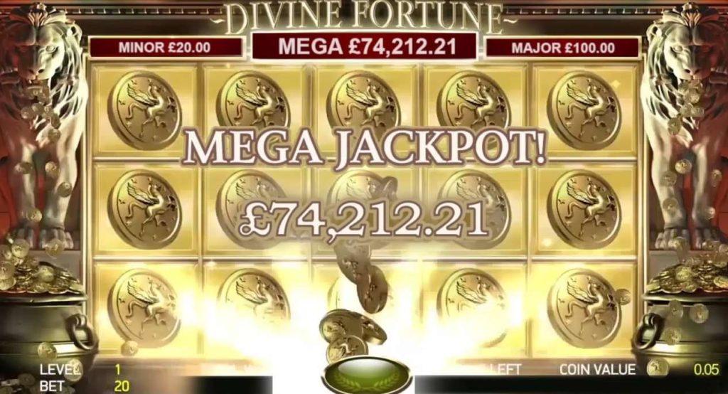 Major jackpot win in Divine Fortune