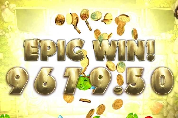 Epic win in Bonanza slot machine