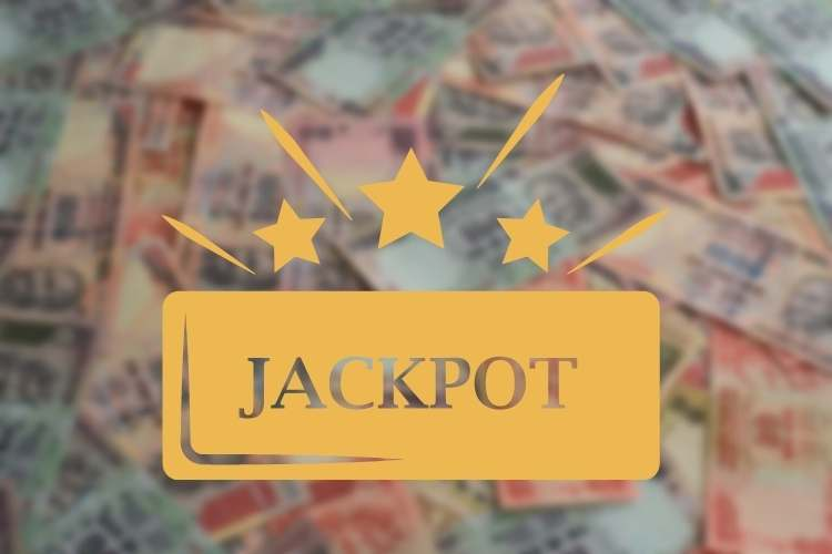 Rupees background and jackpot games