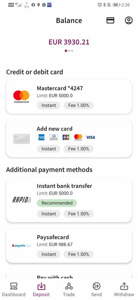 Skrill adds a 1% fee on deposits
