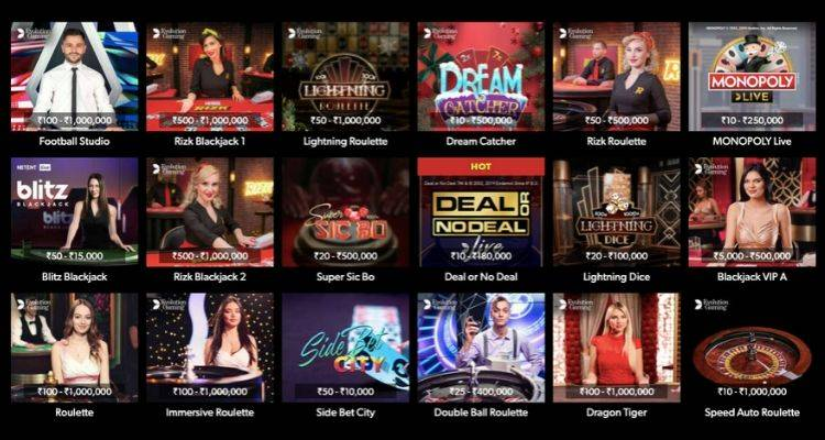 Online casinos offers 1000's of games
