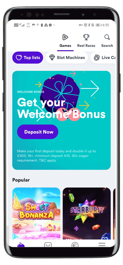 Inside Casumos mobile app