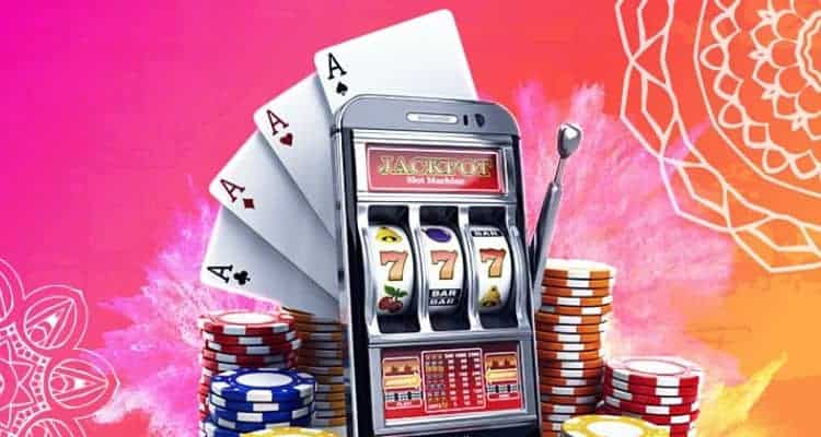 Promotional image for online gambling